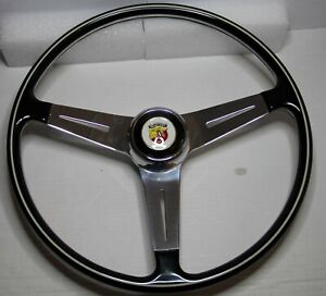 Classique Fiat 500 600 750 850TC 595 695 Abarth Style Direction Roue 395mm