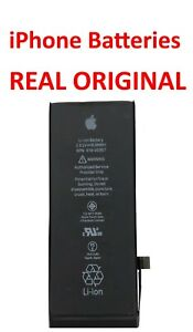 REAL Original iPhone 5s 6 6s SE 7 8 X Xs Xr Batteries FREE TOOLS, STICKY STRIPS