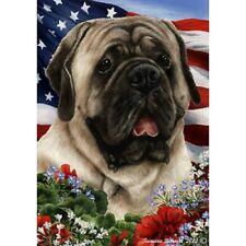 Patriotic (1) House Flag - Silver Mastiff 16277