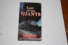 VHS VIDEO TAPE TITLED: LAST OF THE GIANTS   SHOWS SLIGHT USE
