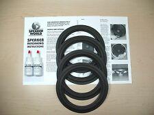 """ADVENT 4+ 8"""" Speaker Woofer ReFoam Repair Kit  Advent Millennium"""