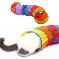 Cat Toy Cat Tunnel Balls Interactive Kitten Toys Assortments Catnip Feather Fish
