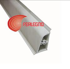 ALZATINA PVC BORDO STONDATO TOP PIANO CUCINA CM.200X2,5X4H. COLORE MARMO CARRARA