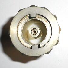 Adaptateur connecteur coax GENERAL RADIO vers fiche DEZIFIX hermaphrodite rare