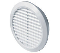 Circle Air Vent Grill Cover 125mm Ducting White Ventilation Cover Z-(20)