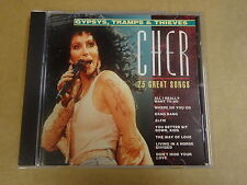 CD / CHER - GYPSYS, TRAMPS & THIEVES - 25 GREAT SONGS