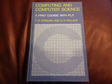Computing And Computer Science A First Course Wirh PL/I Sterling And Pollack HC