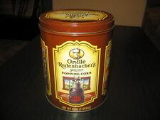 wow!! rare!! vintage orville redenbacher's gourmet popping corn advertising tin!