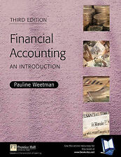 USED (GD) Financial Accounting: An Introduction by Pauline Weetman