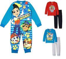 Niños Oficial Nickelodeon Patrulla Canina 2 piezas Pijama / polar de una sola
