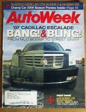 AUTOWEEK 2006 APR 03 - FORD FUSION, ESCLADE Spcl, LOEB