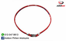 Phiten Rakuwa X50 High-End RED Necklace 50cm ORIGINAL JAPAN