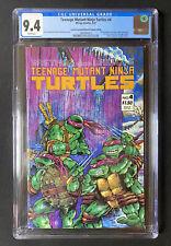 Teenage Mutant Ninja Turtles #4 CGC 9.4 2nd Print/Error Mirage Studios 1987 TMNT