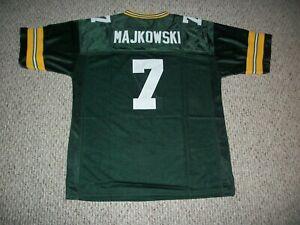 DON MAJKOWSKI Unsigned Custom Sewn New Football Green Bay Jersey Sizes S-3XL