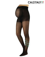 Sheer Support Maternity Tights, Compression Pregnancy Pantyhose 20 DEN, S-XL