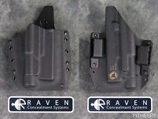 Raven Concealment Glock 17 19 22 23 32 Streamlight TLR-1 S Full Shield Holster
