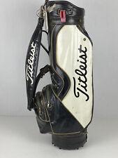 "VTG Titleist Staff Bag Black-White 8"" Golf Bag"