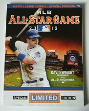 2013 MLB Official NY METS All-Star Game Program Special Limited Ed David Wright