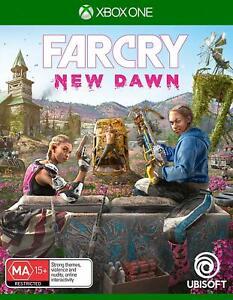 Far Cry New Dawn Xbox One, GENUINE AUSTRALIAN RELEASE, NEW SEALED