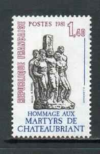FRANCE MNH 1982 SG2443 MARTYRS OF CHAUTEAUBRIANT