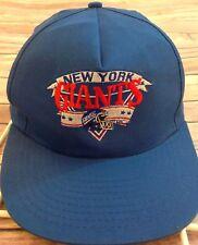 New York Giants Embroidered Baseball Cap Trucker Hat Snap Back Adjustable New