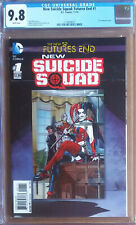 NEW SUICIDE SQUAD FUTURES END #1 Cover A (2014 series) - 3D Cover - CGC 9.8