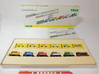 AQ804-1# Schiebetrix/Trix 1:180 11430 Set 40 Jahre Minitrix: Diesellok etc, OVP
