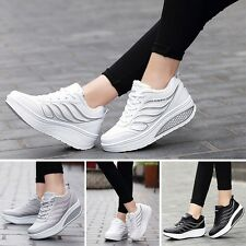 New Women Platform Shoes Leisure Sports Trainers Winter All-Match Running Shoes