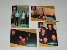 4 Pc. THE DOORS PRO SET Music Cards MINT 1st Edition JIM MORRISON Ray Manzarek