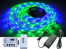 5M Dream Color 1809 IC RGB Flash LED Strip Light + 133 Changes + Power Supply