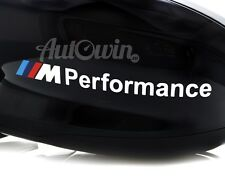 BMW ///M Performance M1 Sticker Logo Emblem 2x pcs.