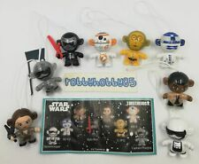 SERIE COMPLETE STAR WARS TWISTHEADS (SE339 - SE346) + 8 BPZ KINDER SURPRISE 2018