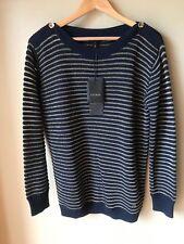 escada sweater L NWT Navy