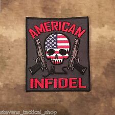 American Infidel Skull & Guns Patch