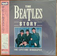 THE BEATLES STORY Laserdisc A Lifetime Biography Japan LD OBI SEALED VALC-3438