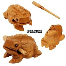 Symbol Guiro Rasp Decompress Toys Wooden Block Musical Instrument Money Frog