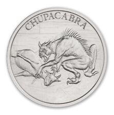 2021 Chupacabra 1 oz .999 Fine Silver Art Round Stunning Silver Coin