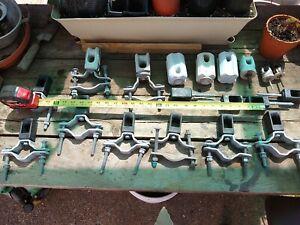NOS Assorted PORCELAIN & plastic main Power   INSULATORS