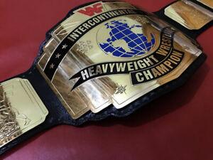 NEW WWF INTERCONTINENTAL HEAVYWEIGHT WRESTLING REPLICA CHAMPIONSHIP BELT