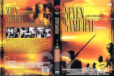 THE SEVEN SAMURAI (1954) - Akira Kurosawa, Toshiro Mifune  DVD NEW