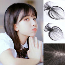 3D Air Bangs Natural Mini Light Thin Fringe Invisible Seamless Hairpiece Clip in