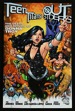 2006 TEEN TITANS OUTSIDERS Death Return of Donna Troy SC TPB VF+ 8.5 1st Print