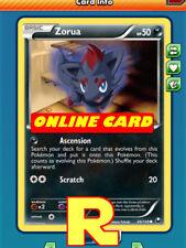 4x Zorua (Ascension) for Pokemon TCG Online ( DIGITAL ptcgo in Game Card)