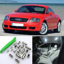 Xenon White 11pcs Interior LED Light Kit for 2000-2006 Audi TT MK1 + Free Tool