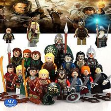 Lord of the rings minifigures il signore degli anelli compatibili hobbit custom