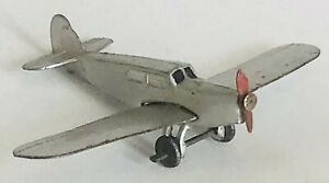 """Dinky Toys 60k aeroplane PERCIVAL """"GULL"""" - LIGHT TOURER excellent condition 1936"""