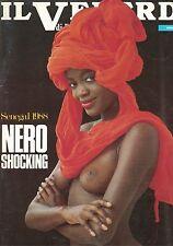 1988 - IL VENERDI DI REPUBBLICA -1988 - N.32 - NERO SHOCKING