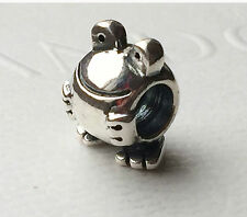 AUTHENTIC PANDORA STERLING SILVER FROG BEAD 790247