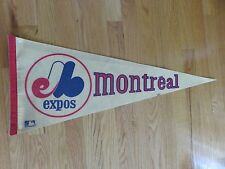 "Vintage 70s MONTREAL EXPOS 30"" Pennant"