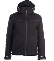 Nevica Chanson Ski Jacket Mens Black Size UK XL *REF102